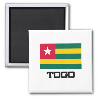 Togo Flag Refrigerator Magnets