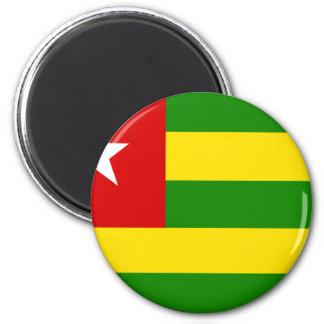 Togo Flag Refrigerator Magnet