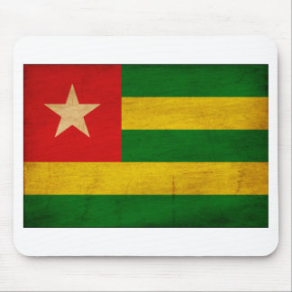Togo Flag Mouse Pad