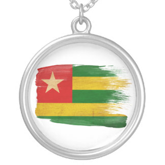 Togo Flag Personalized Necklace
