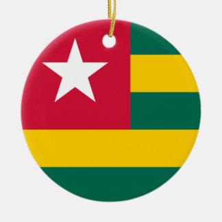 Togo Flag Ornament