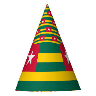 Togo Flag Party Hat