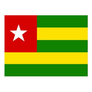 Togo Flag Post Cards
