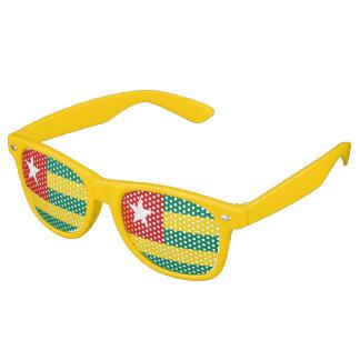 Togo Flag Retro Sunglasses