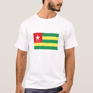Togo flag souvenir tshirt
