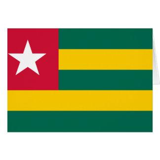 Togo Flag Stationery Note Card