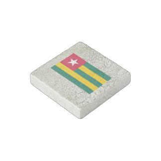 Togo Flag Stone Magnet