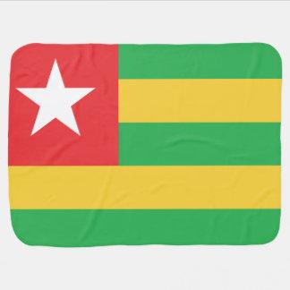 Togo Flag Swaddle Blanket