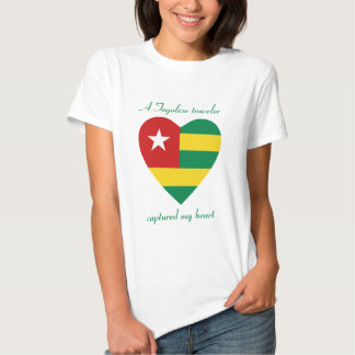 Togo Flag Sweetheart T-Shirt