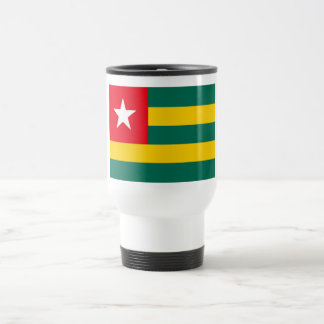Togo Flag Travel Mug