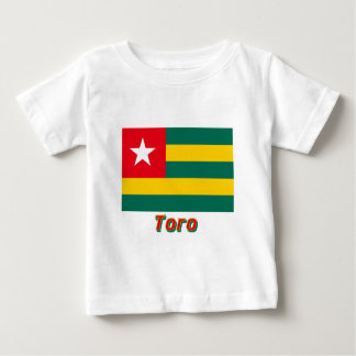 Togo Flag with name in Russian Tshirt