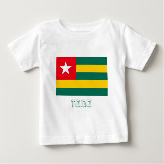 Togo Flag with Name T Shirts