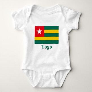 Togo Flag with Name Tee Shirt