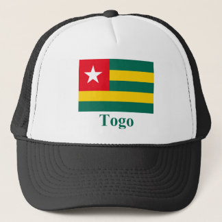 Togo Flag with Name Trucker Hat