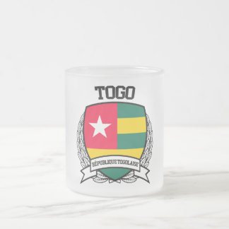 Togo Frosted Glass Coffee Mug