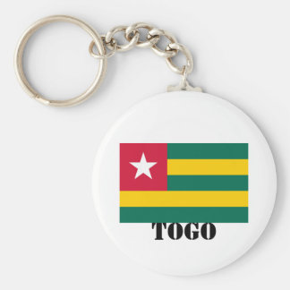 TOGO, GHANA, NINGUNA MERCANCÍA 1 AFRICANO DEL LLAVERO REDONDO TIPO PIN
