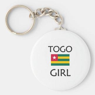 TOGO GIRL KEYCHAIN