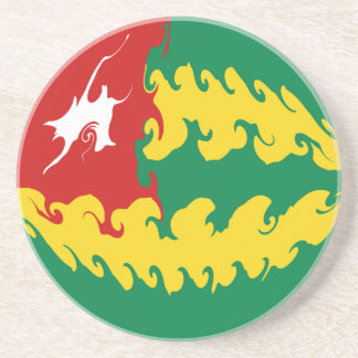 Togo Gnarly Flag Drink Coaster