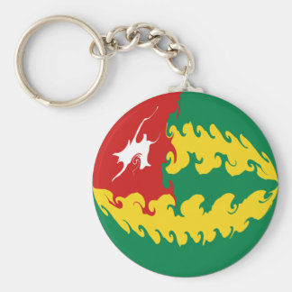 Togo Gnarly Flag Keychain