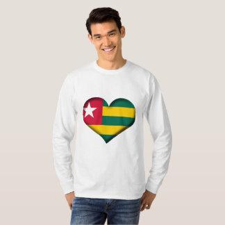 Togo Heart Flag T-Shirt