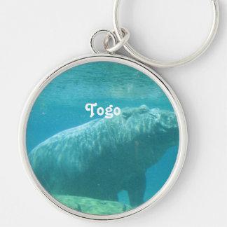 Togo Hippo Keychains
