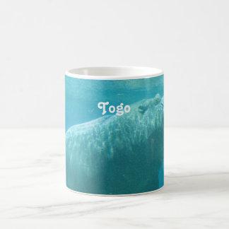 Togo Hippo Classic White Coffee Mug