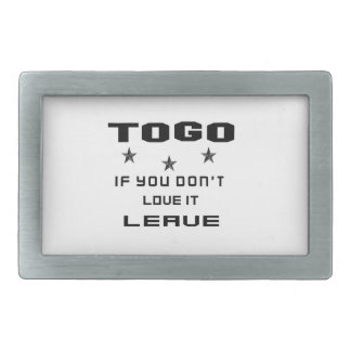 Togo If you don't love it, Leave Belt Buckle
