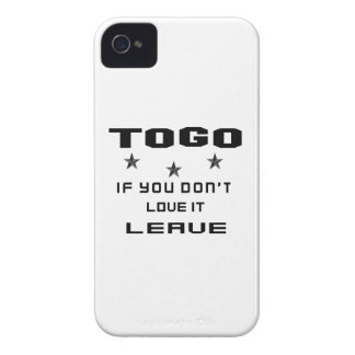 Togo If you don't love it, Leave Case-Mate iPhone 4 Case