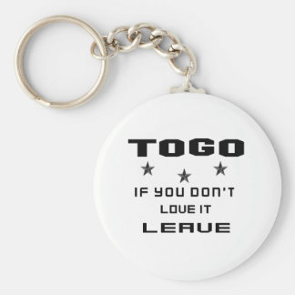 Togo If you don't love it, Leave Keychain