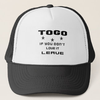 Togo If you don't love it, Leave Trucker Hat