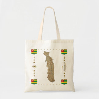 Togo Map + Flags Bag