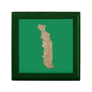 Togo Map Gift Box