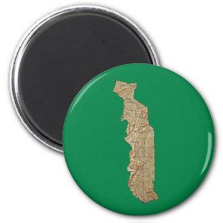 Togo Map Magnet