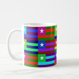 Togo Multihue Flags Mug
