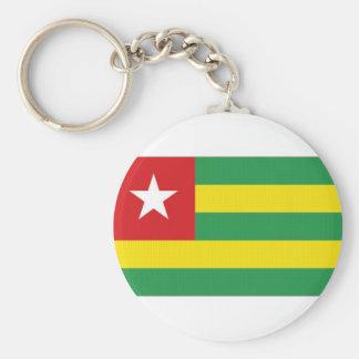 Togo National Flag Keychains