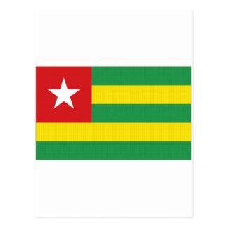 Togo National Flag Postcard
