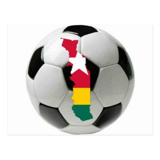 Togo national team postcards