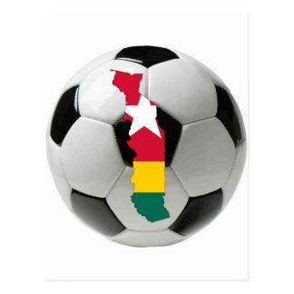 Togo national team post cards