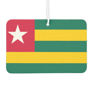 Togo National World Flag Car Air Freshener