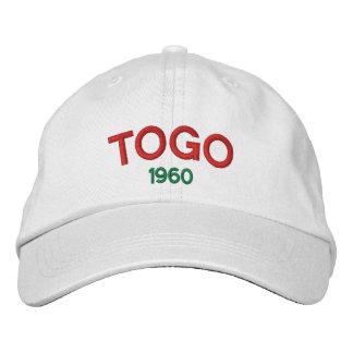 Togo Republic Custom Hat Embroidered Baseball Caps
