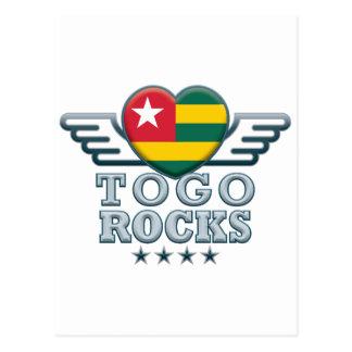 Togo Rocks v2 Postcard