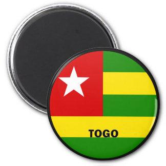 Togo Roundel quality Flag Refrigerator Magnet