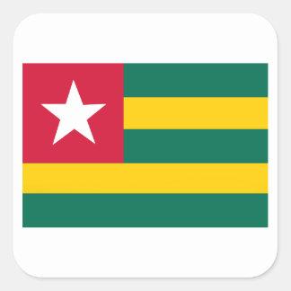 Togo Square Sticker