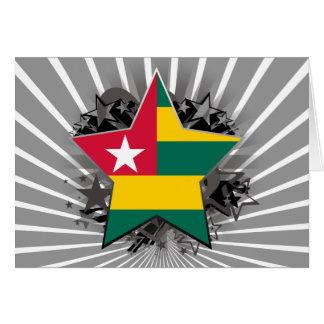 Togo Star Greeting Card
