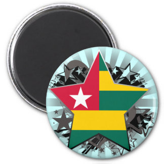 Togo Star Refrigerator Magnets