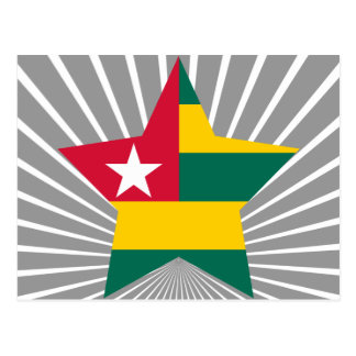 Togo Star Postcard