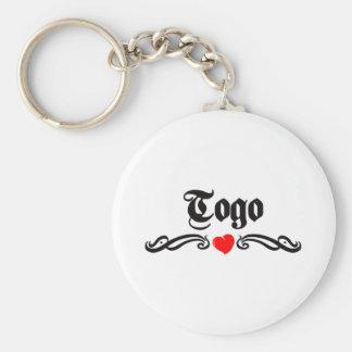 Togo Tattoo Style Keychain
