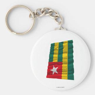 Togo Waving Flag Keychain