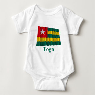 Togo Waving Flag with Name T Shirts