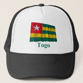 Togo Waving Flag with Name Trucker Hat
